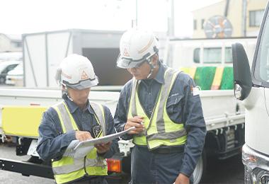 ポイント2 スタッフとのコミュニケーションを大切にして強いチームワークで仕事に挑む